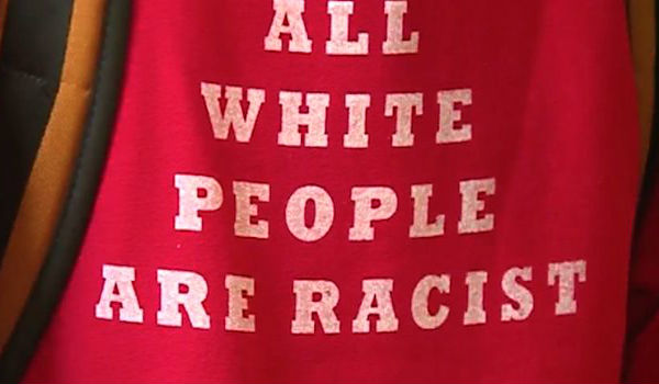 all whites are racist
