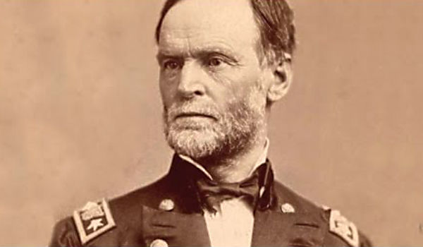 william t sherman William tecumseh sherman february 8, 1820 - february 14, 1891) was an american soldier, businessman, educator, and author he served as a general in the union army during the american civil war (1861-65), for which he received recognition for his outstanding command of military strategy as well as criticism for the harshness of the  scorched earth  policies he implemented in conducting.